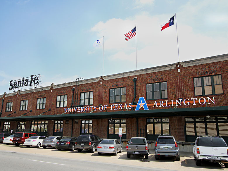 uta fort worth exterior