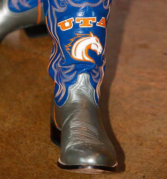 U-T-A Branded Cowboy Boot