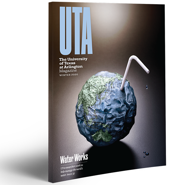 UTA Magazine Winter 2020 cover