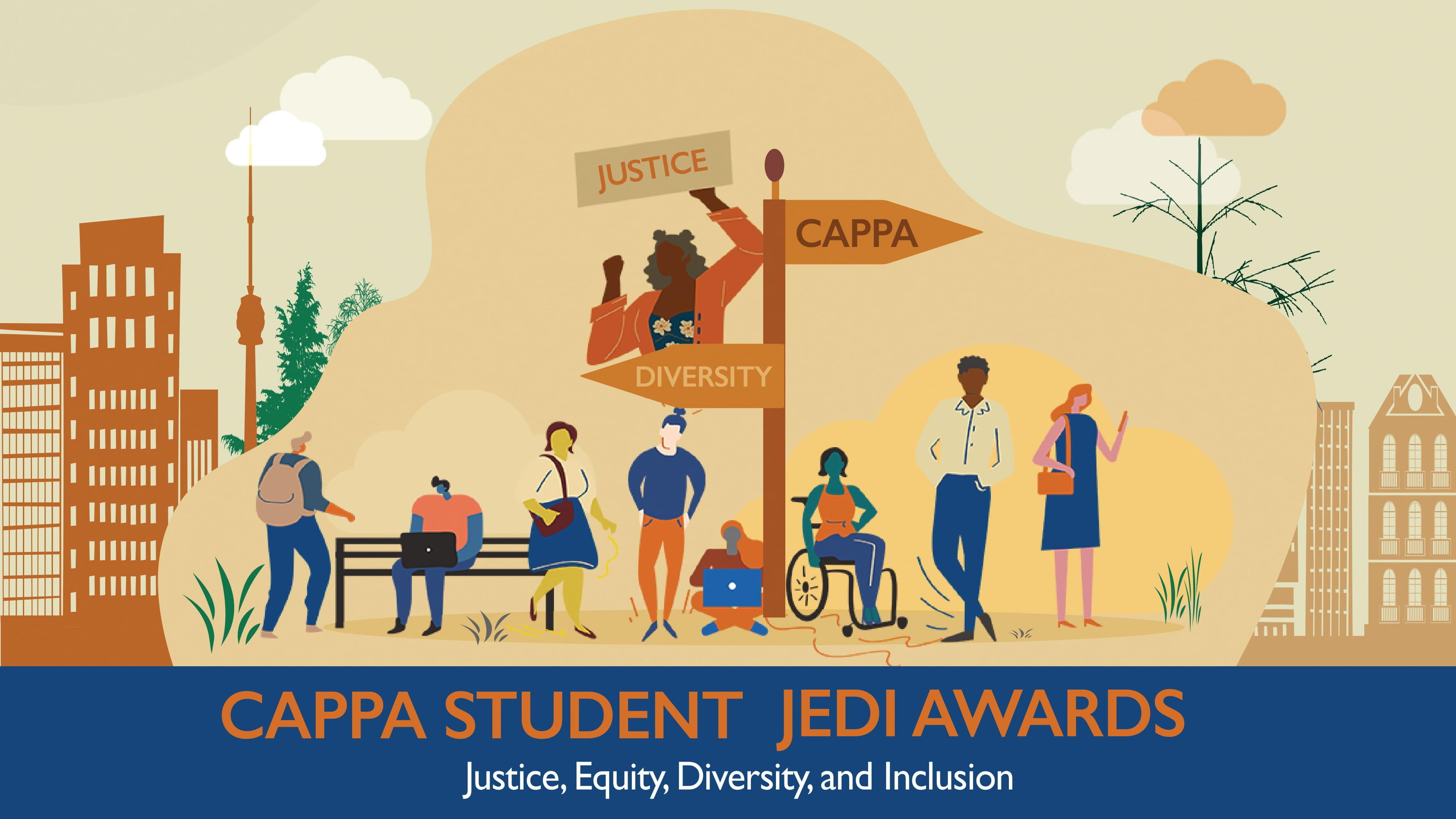 CAPPA Student Jedi Awards graphic banner