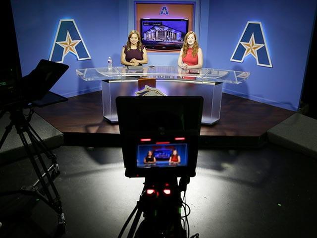 UTA News behind the scenes