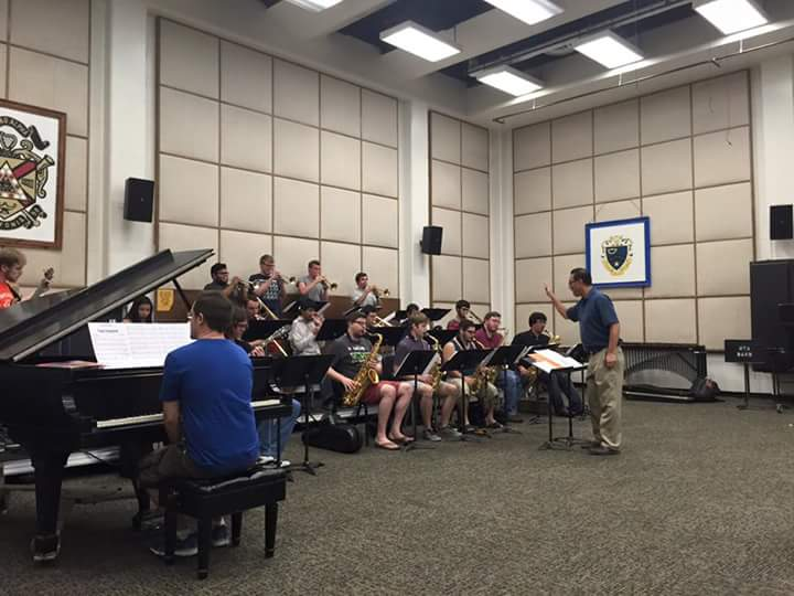 jazz band in band hall
