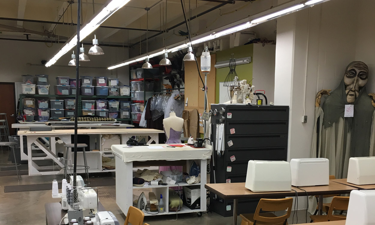 sewing room facility