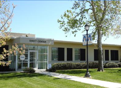 Swift Center entrance