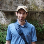 Dr. Daniel Scarpace in a cap