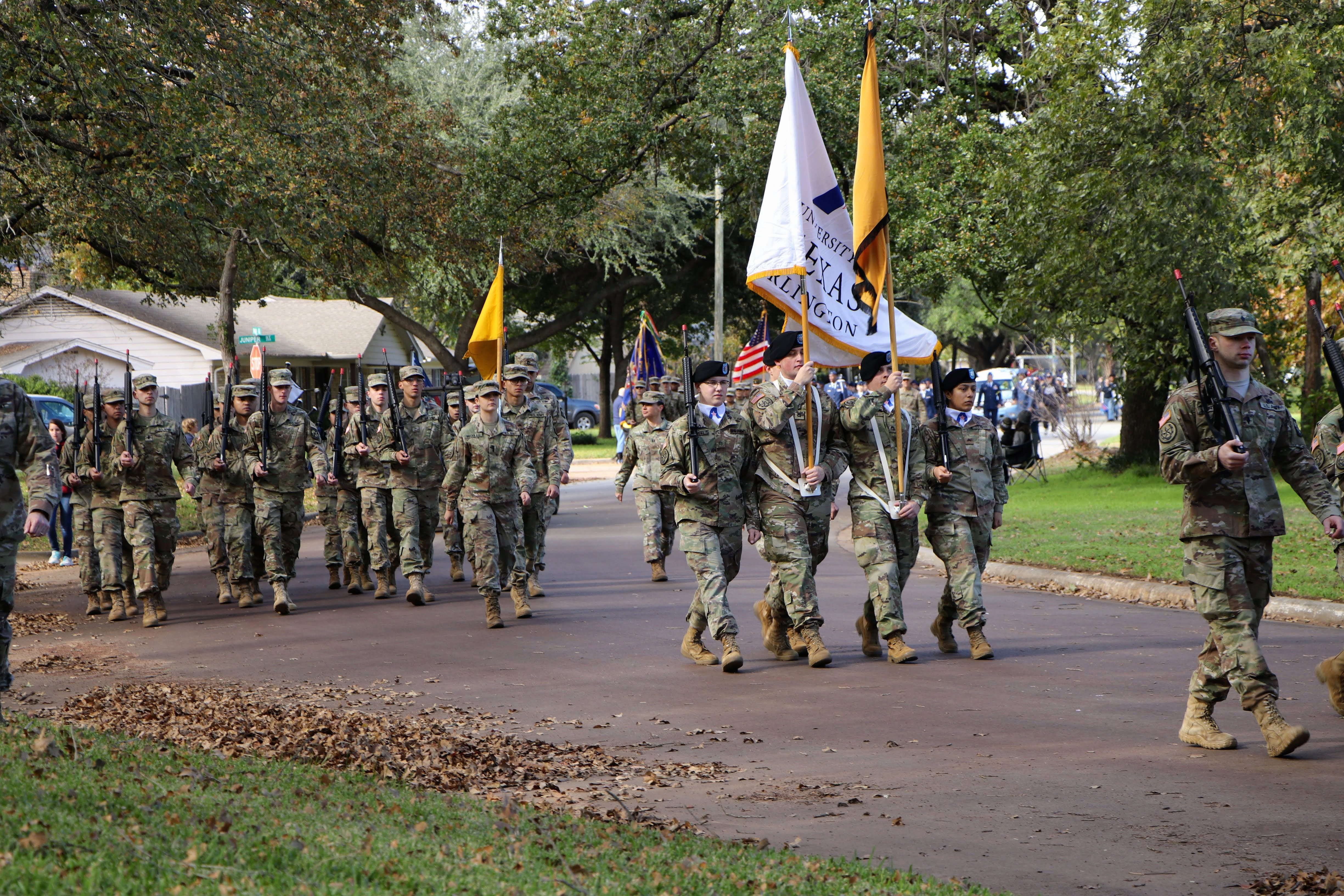 ROTC march