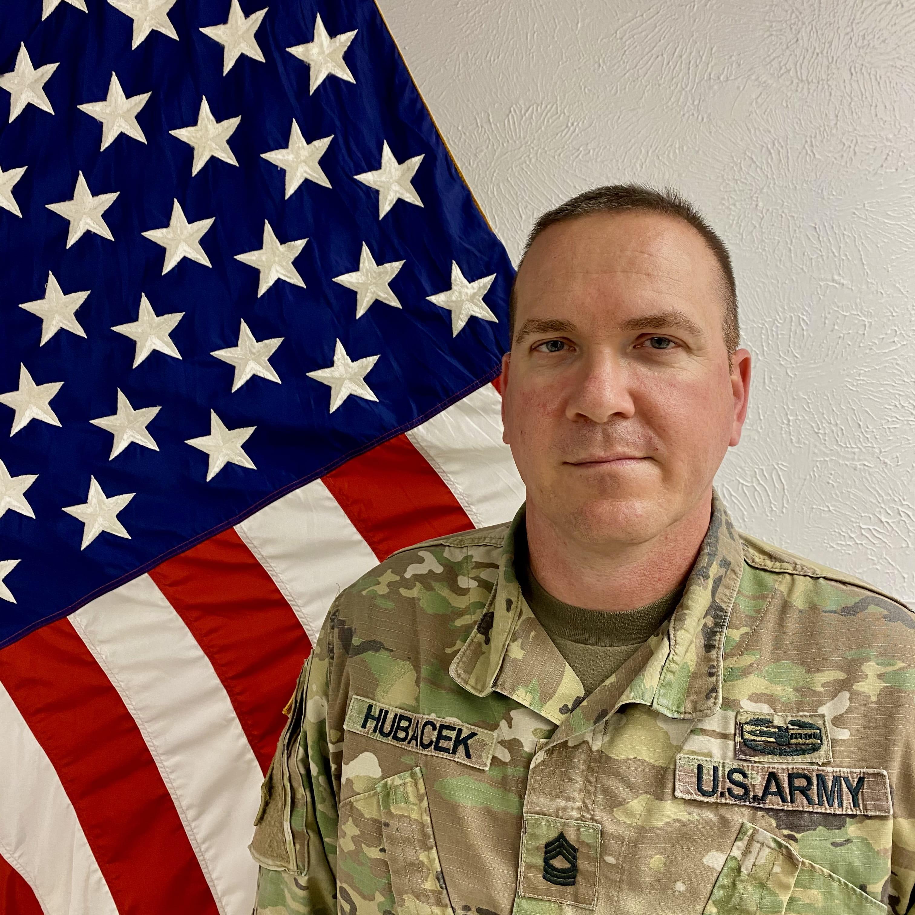 Master Sergeant Jeremy Hubacek