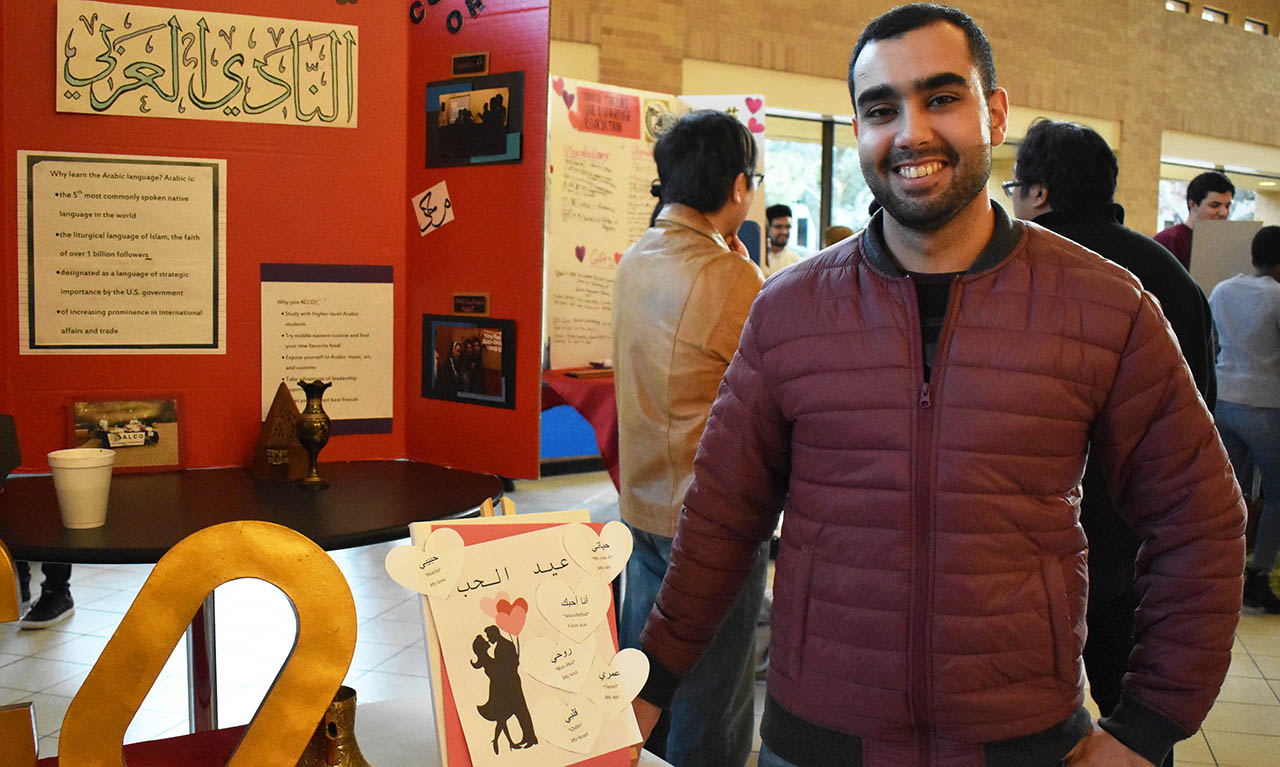 Arabic Language and Culture Organization student