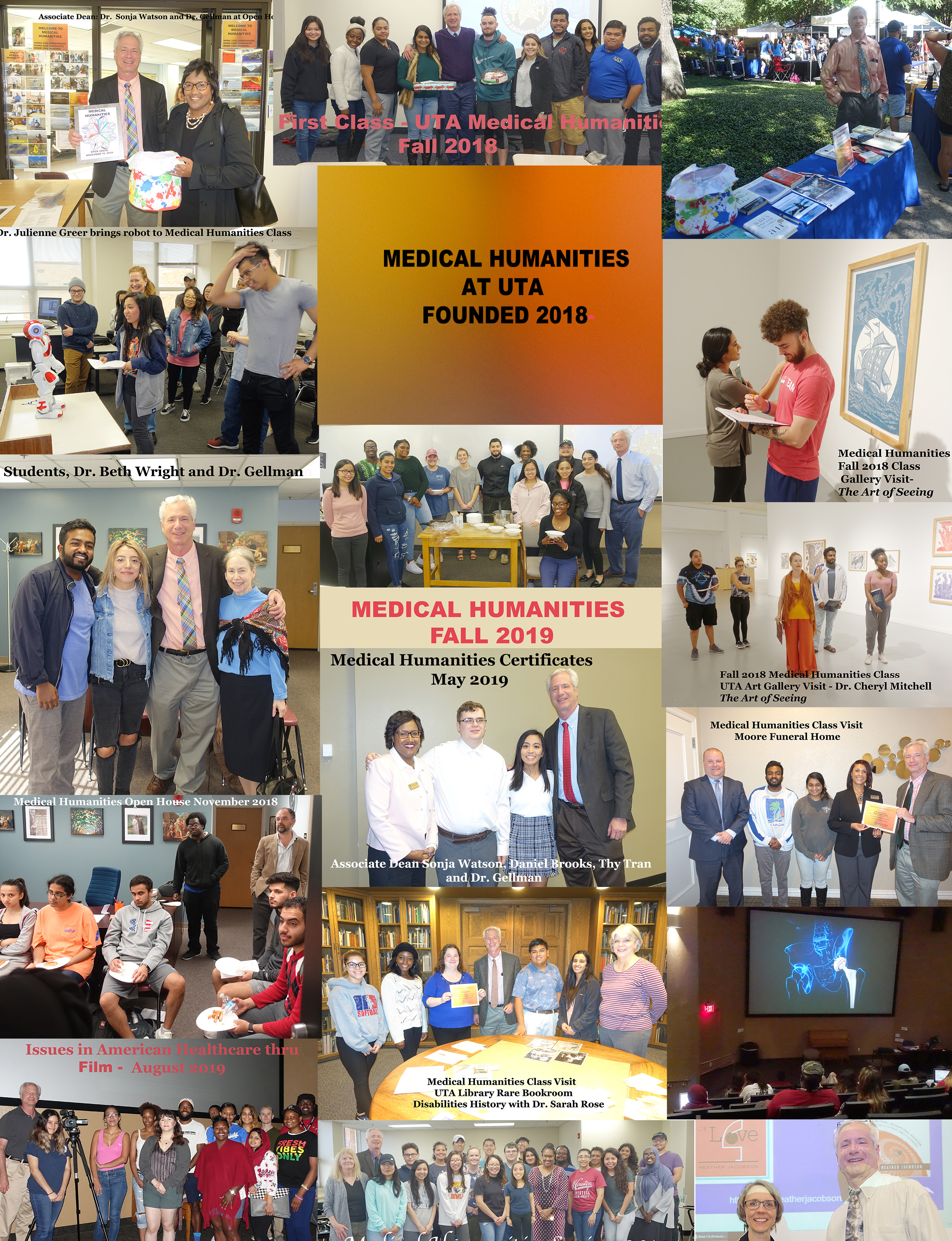 photo collage of philosophy events
