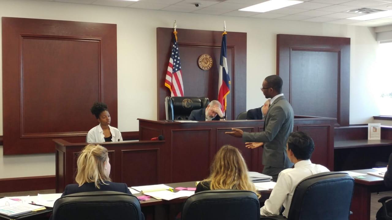 UTA Pre-Law Moot - Oral Mock Trial Heading