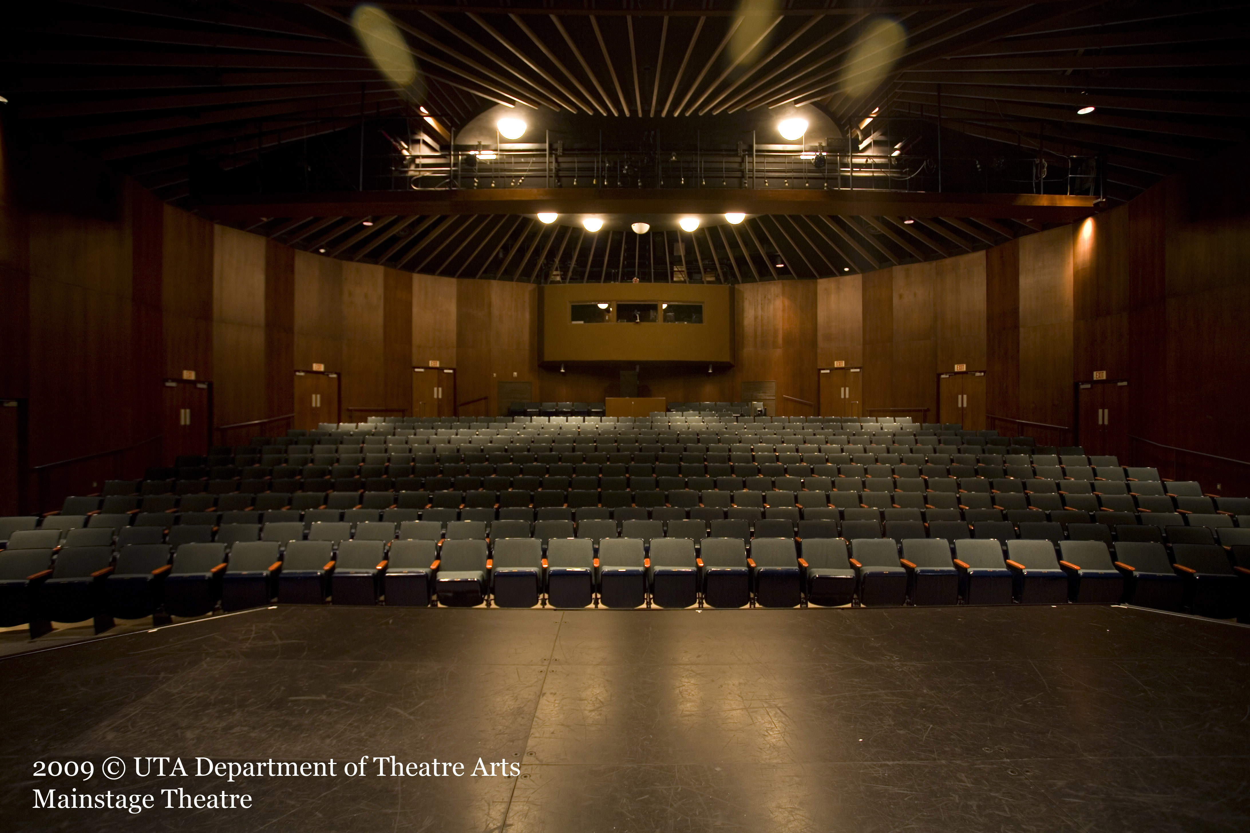 Stage and theatre