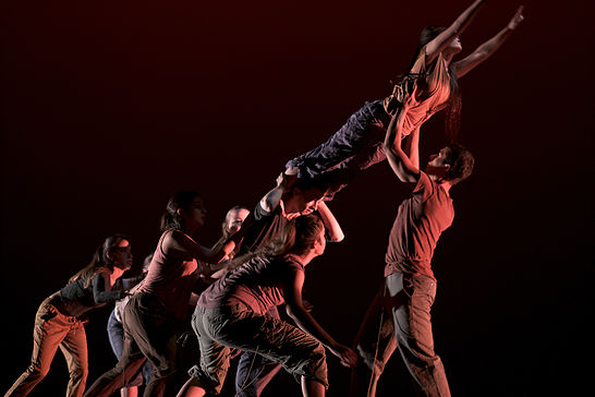 """UTA dancers """"bold, gutsy, and provocative"""" at ACDA performance"""