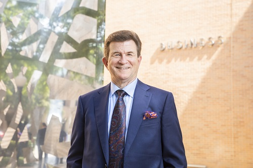 College of Business Dean Harry Dombroski