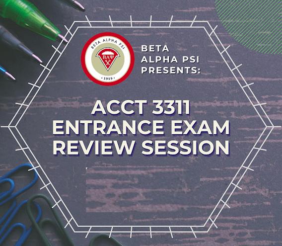 Entrance Exam FAQ Flyer