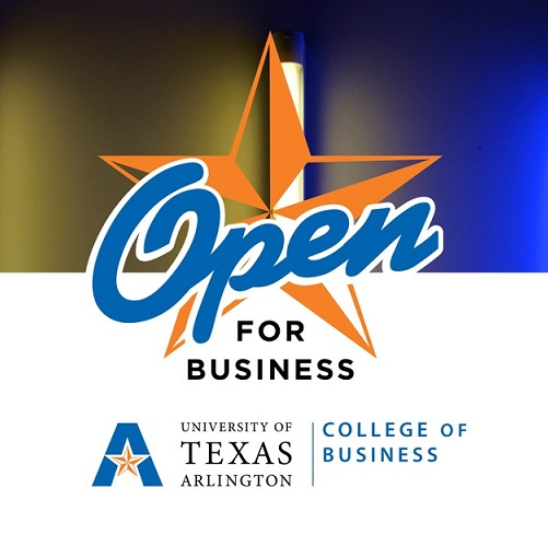 Open for Business Graduate Banner Icon