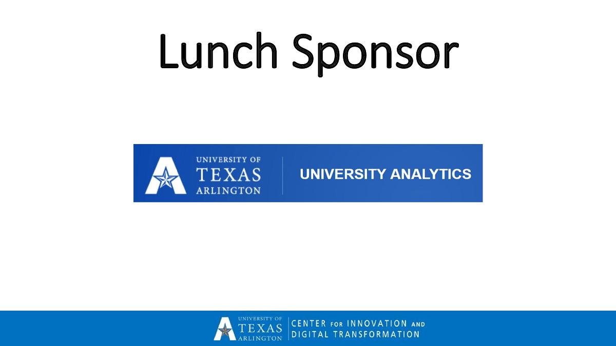 Analytics Symposium Sponsors Part 6