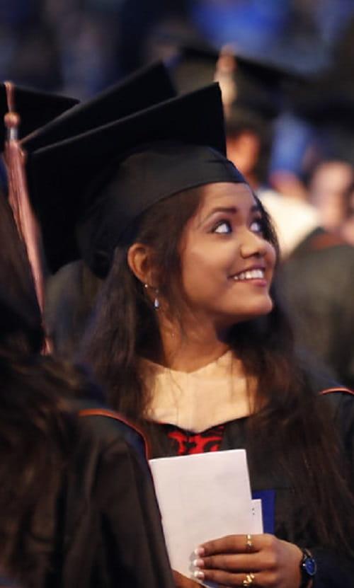 MS MBA Graduation Girl UTA