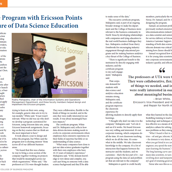Innovative Program With Ericsson Points Icon