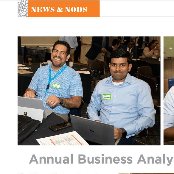 News Business Analytics Symposium Icon