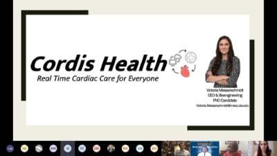 Cordis Presentation Card