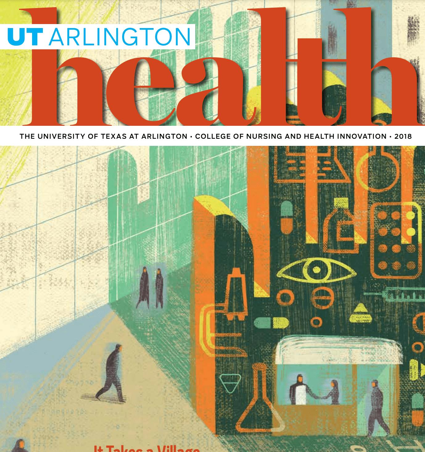 2018 Health Magazine cover