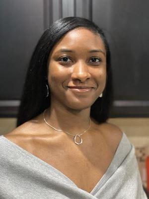 Kayrin Wells-Jackson, a student at UTA