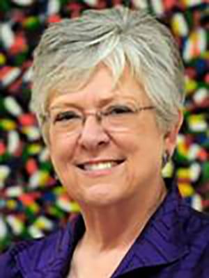 Portrait of faculty emeriti Carolyn Cason