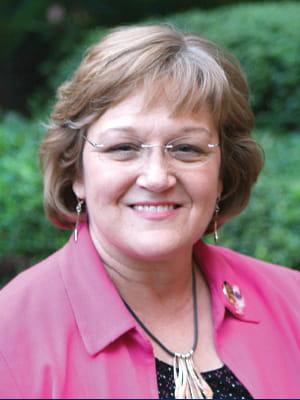 Portrait of faculty emeriti Jennifer Gray