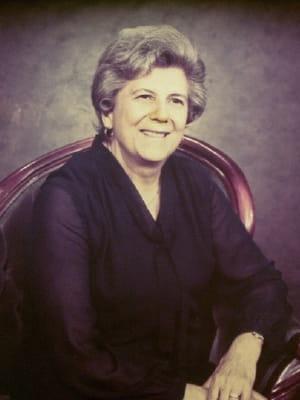 Portrait of faculty emeriti Hazel Jay