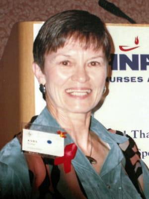 Portrait of faculty emeriti Kyba Ferne