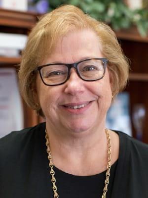 Portrait of faculty emeriti Beth Mancini