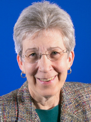 Portrait of faculty emeriti Barbara Raudonis