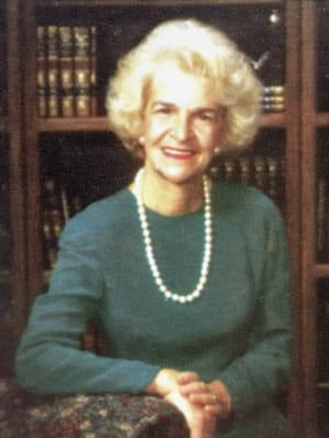 Portrait of faculty emeriti Mary Ellen Wyers