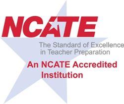 NCATE/CAEP Logo