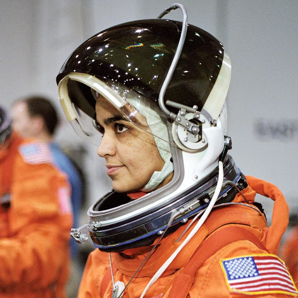 Kalpana Chawla Close Portrait