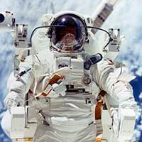 Robert L. Stewart, a NASA astronaut and College of Engineering alumnus