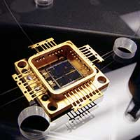 An microelectronic component