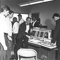 The College purchased its first computer in 1961