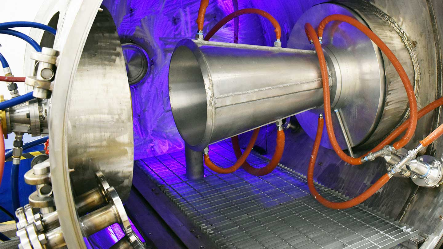 UTA's arc-jet heated hypersonic wind tunnel