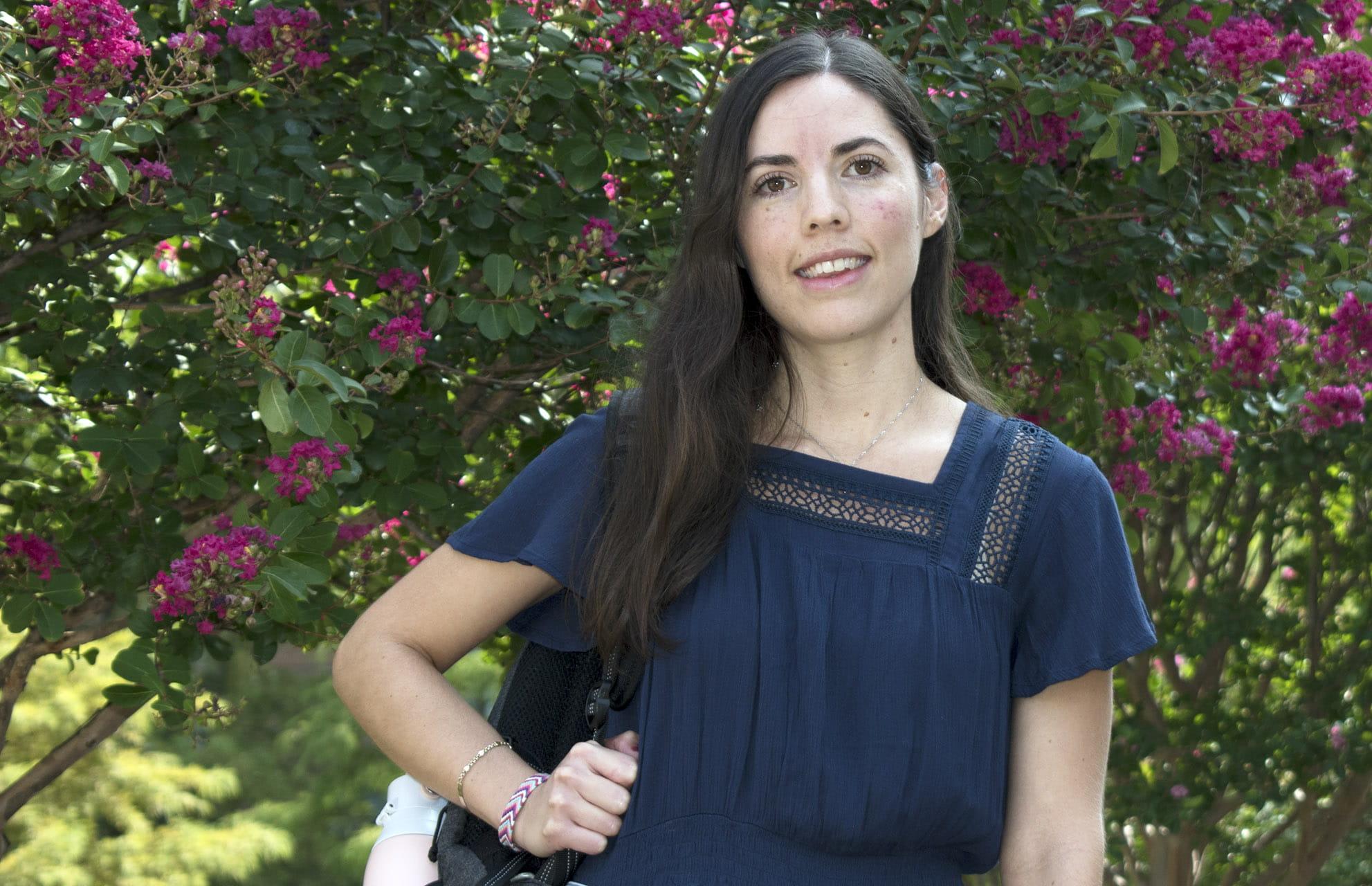UTA electrical engineering student Beatriz Montserrat-Meadows