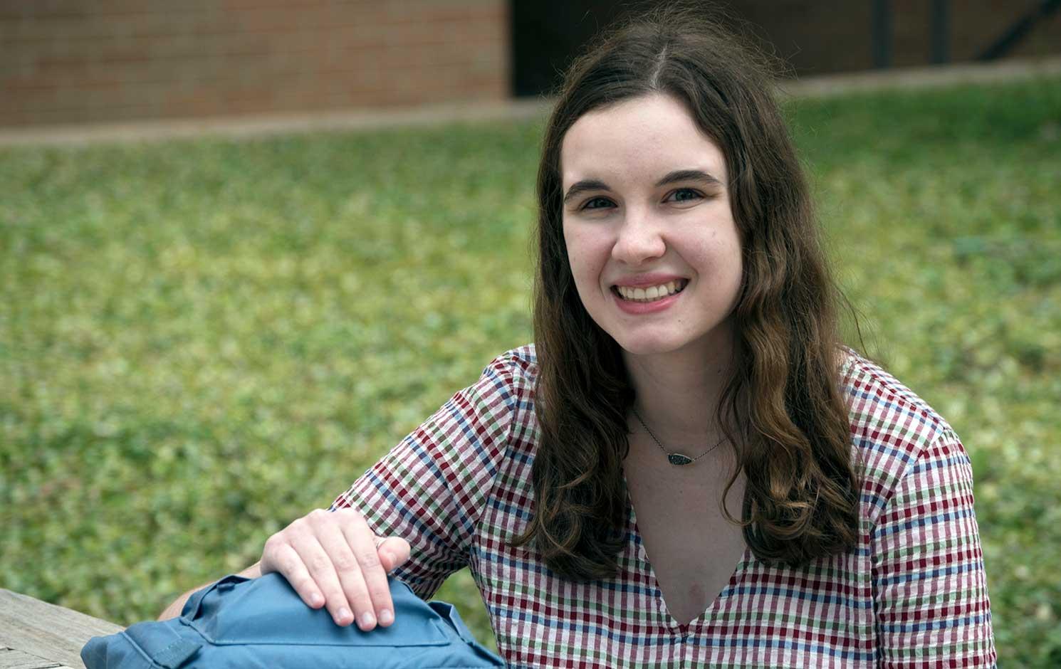 UTA electrical engineering student Amanda Losh