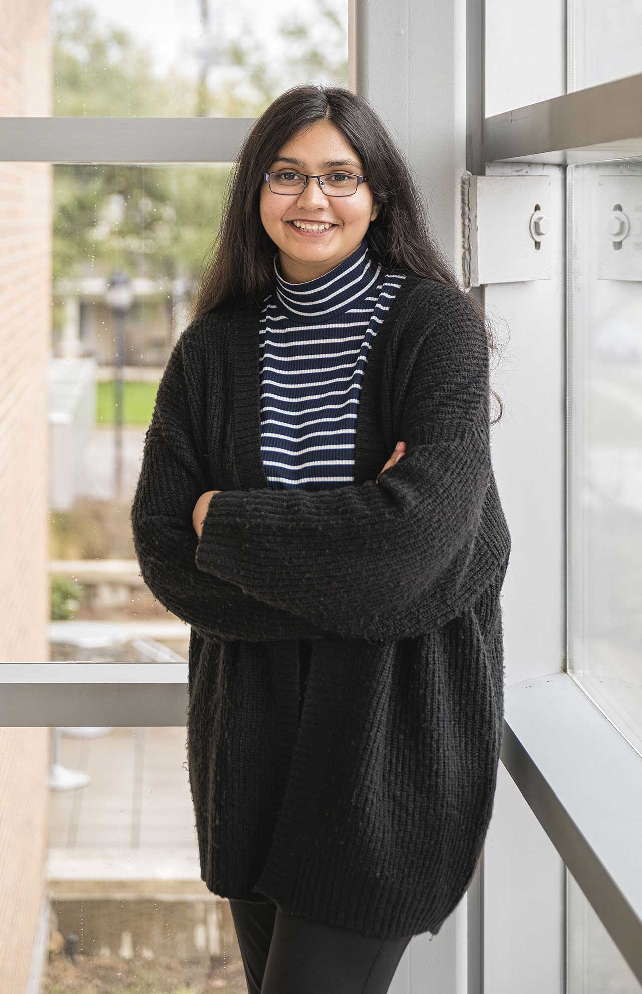 UTA Computer Science and Engineering student Rajvi Tiwari