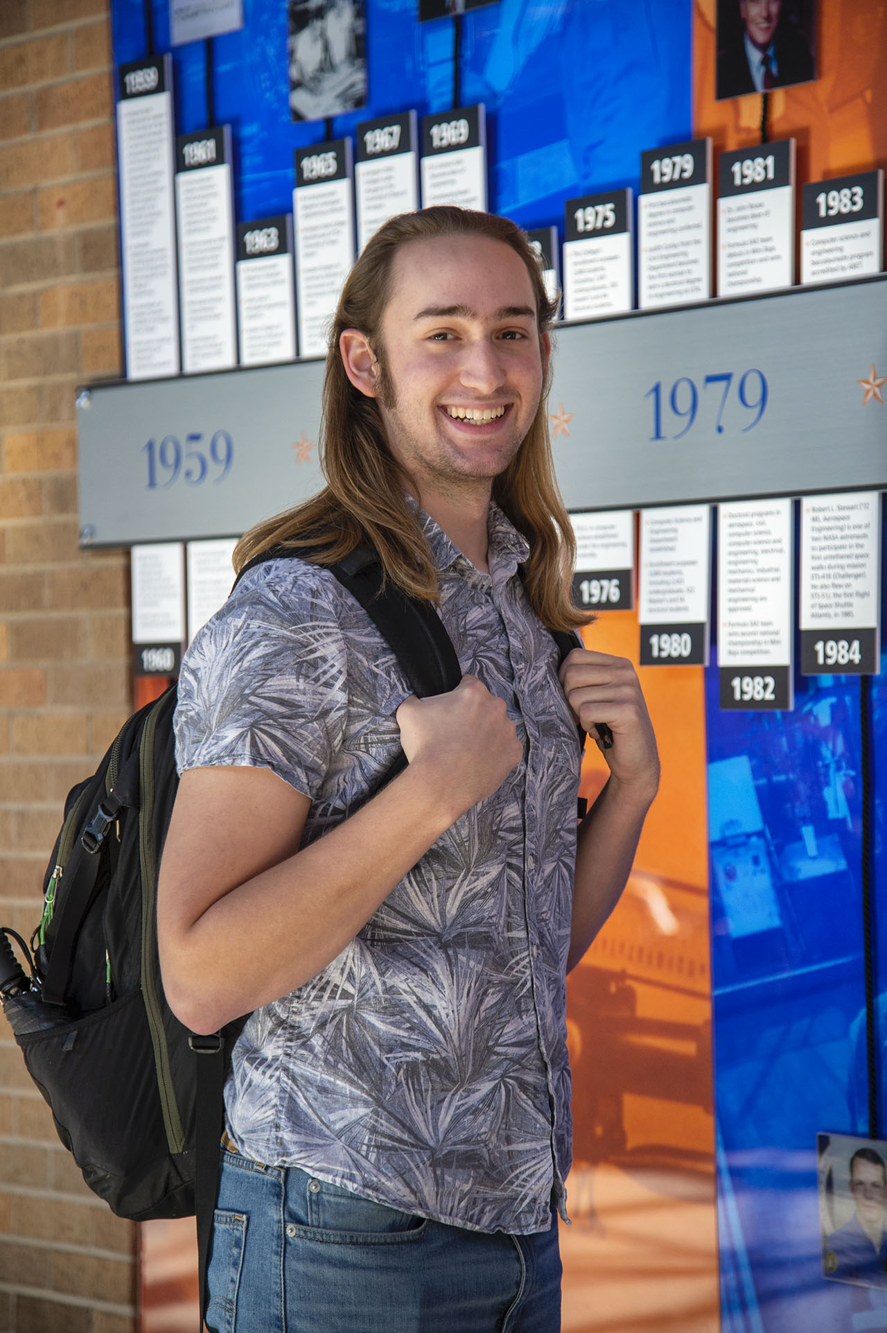 UTA Engineering Ambassador Tiger Koster