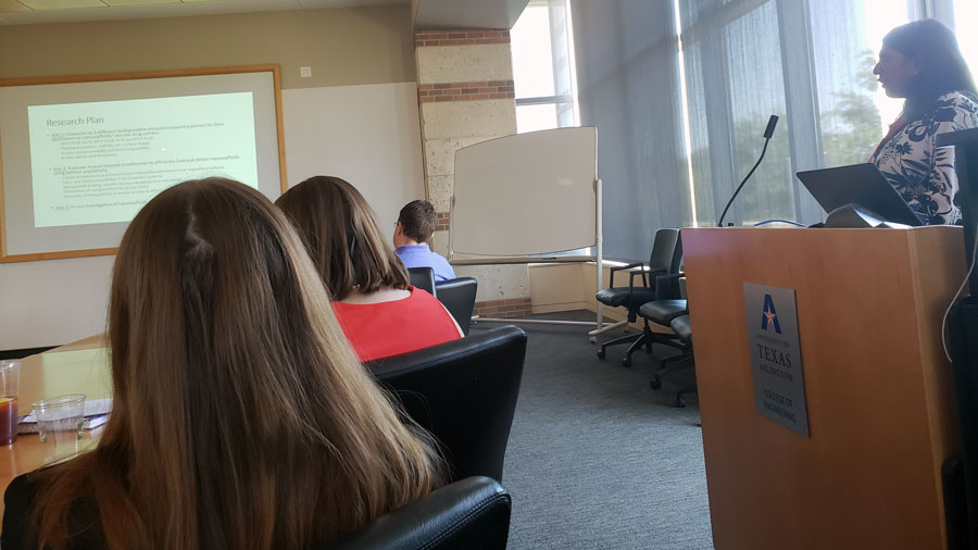 Aneetta Kuriakose introduces her research topic and discusses her yearly progress.