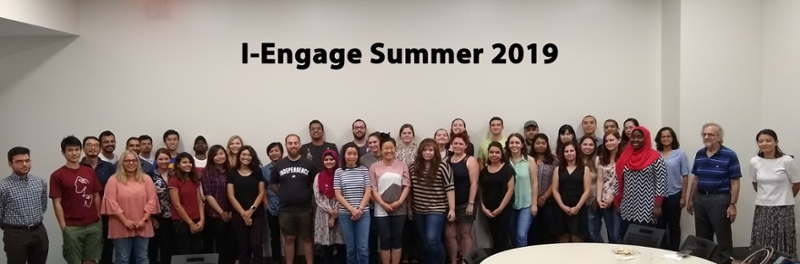 I-Engage Summer 2019 group