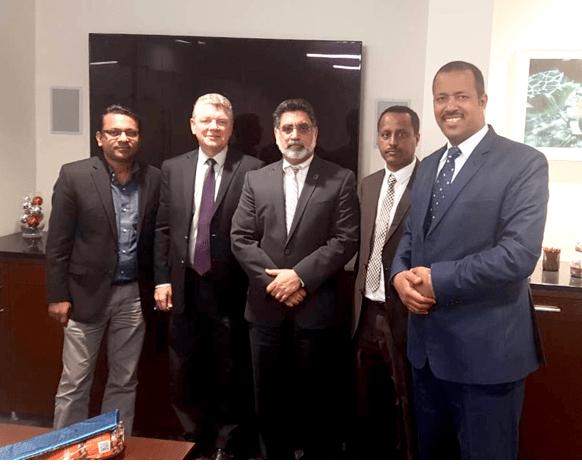 Ethiopian delegates recently visited UTA
