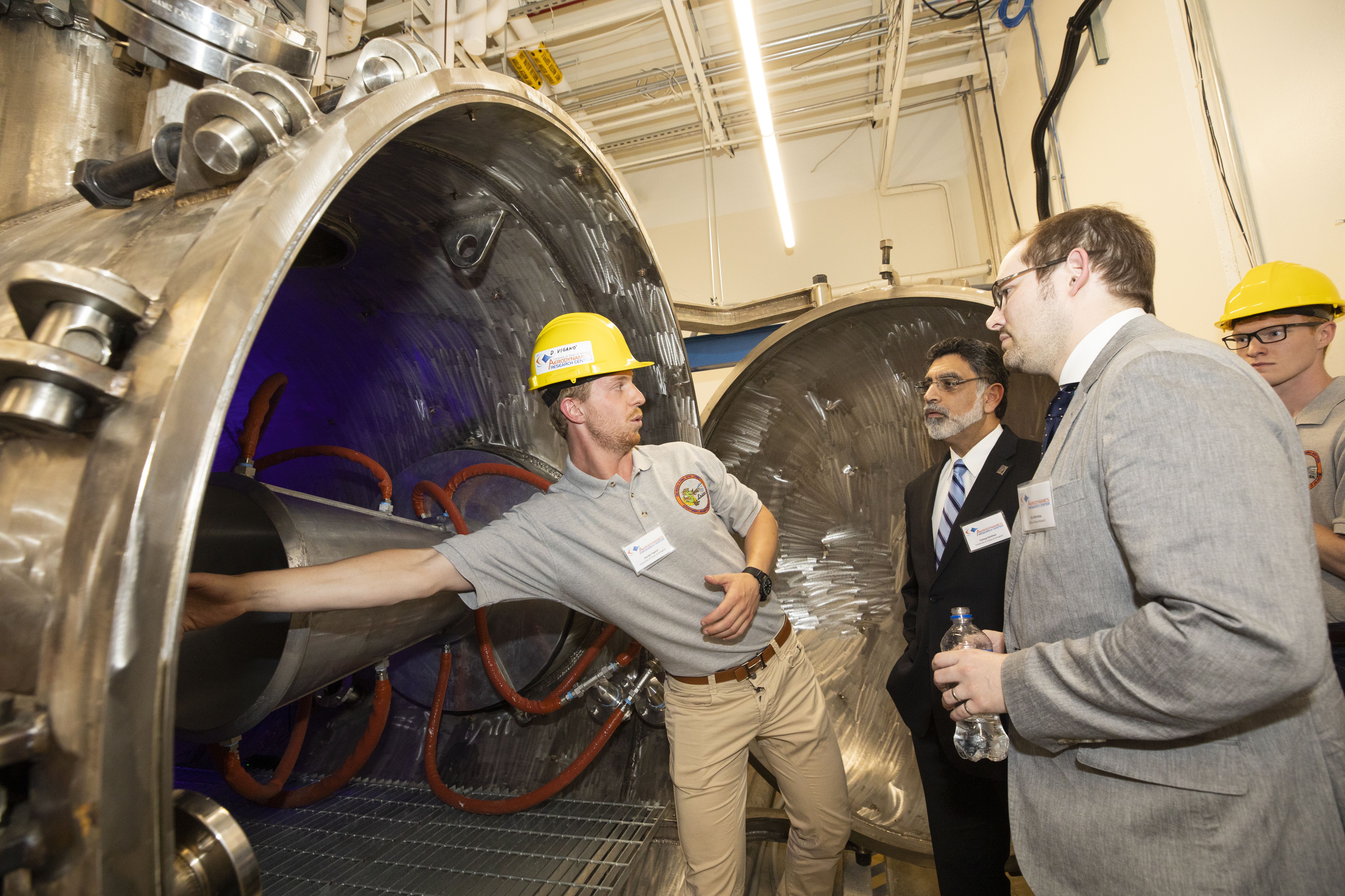 UTA's arc-heated, hypersonic wind tunnel