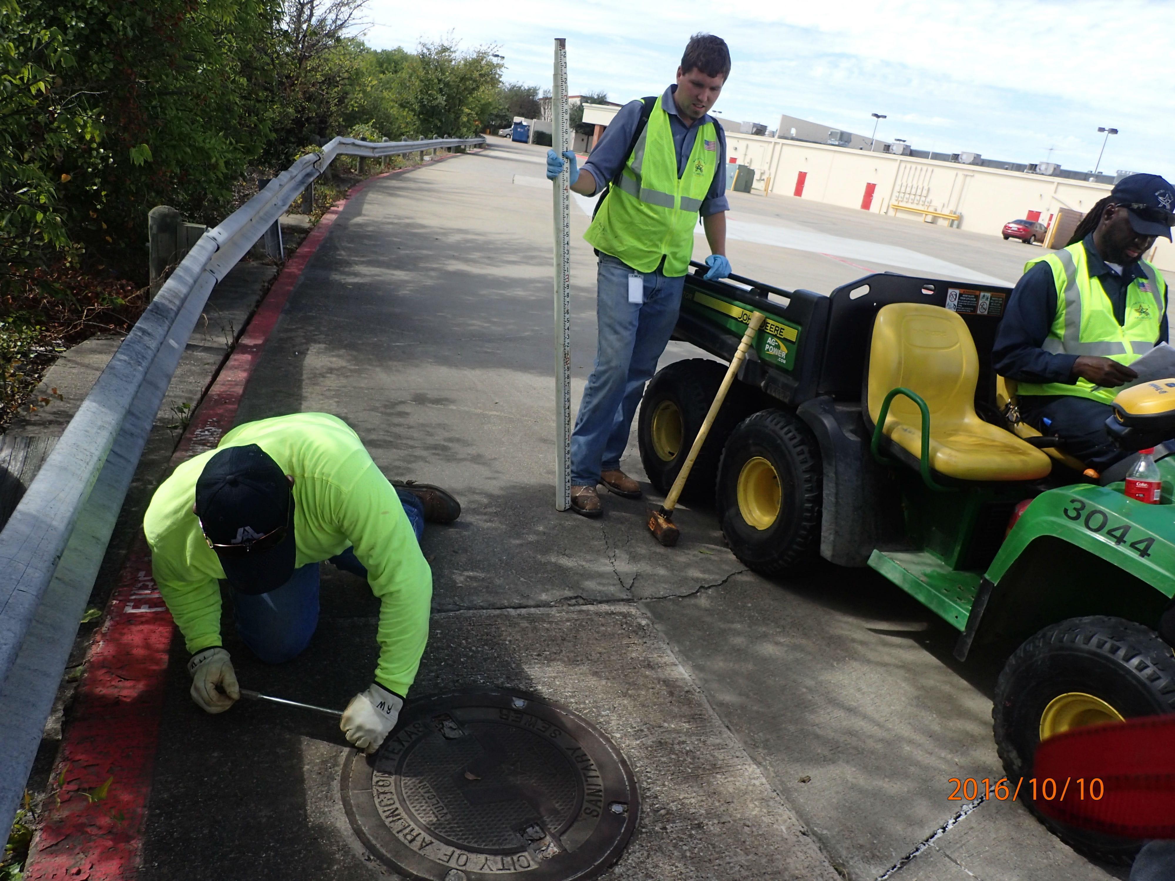 Arlington manhole