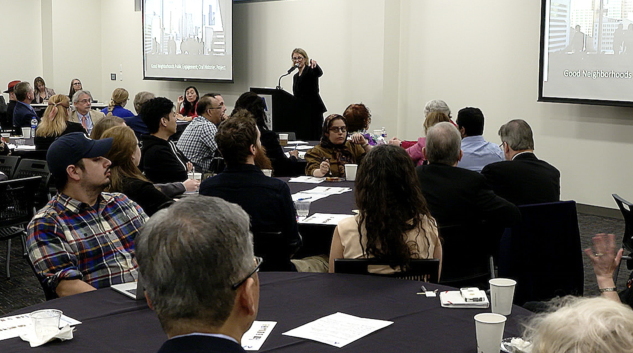 Symposium on sustainable urban communities