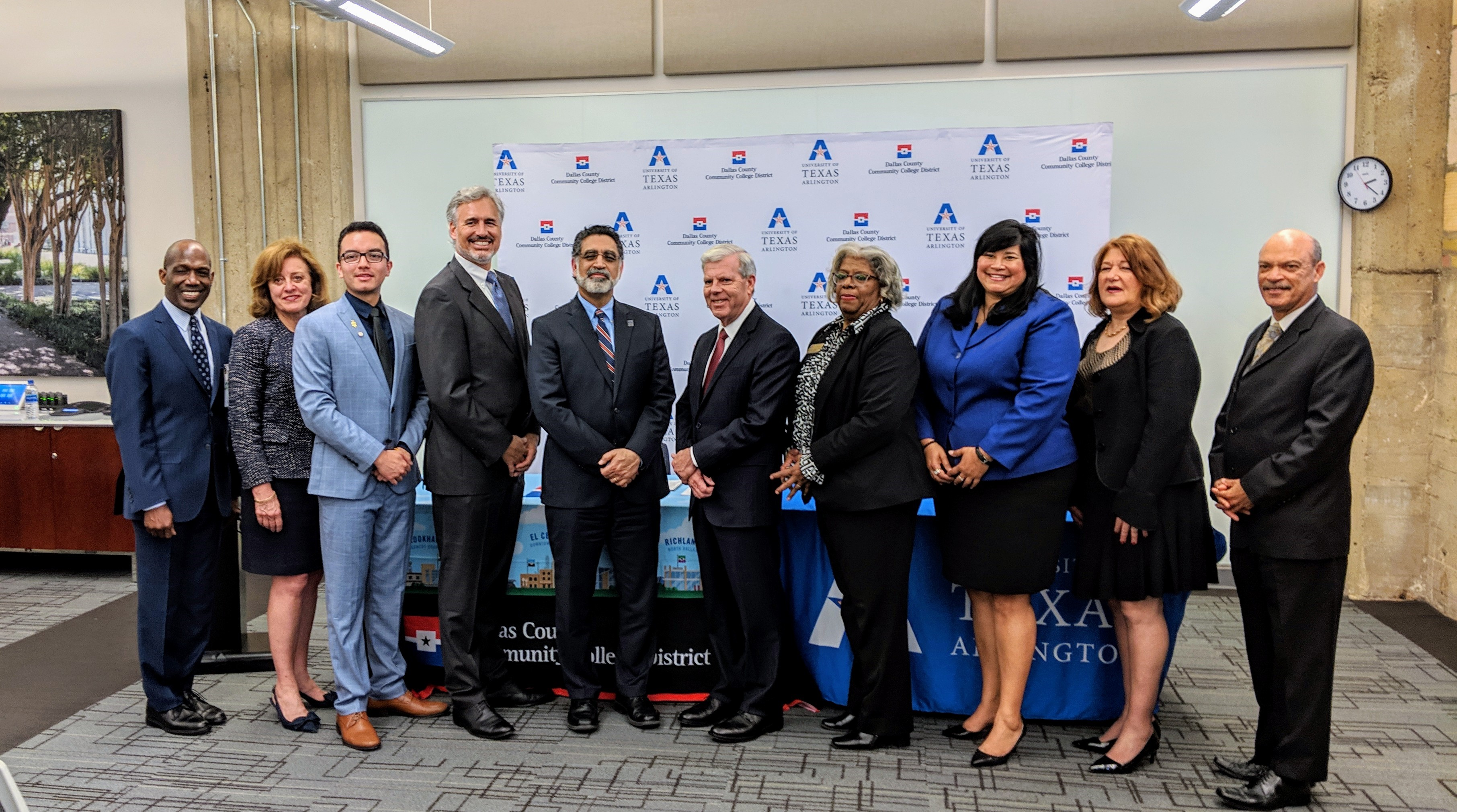 Uta And Dcccd Sign Enhanced Agreement To Increase Success Of Transfer Students The University